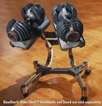 Bowflex Select Tech 552 DB Stand