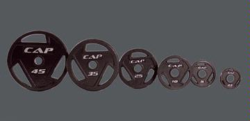 Cap Barbell Easy Grip Plate Weight - sold as individual plates at $.99 per pound
