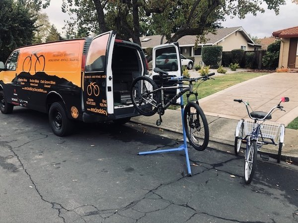 Encina Bicycles Pick Up and Delivery