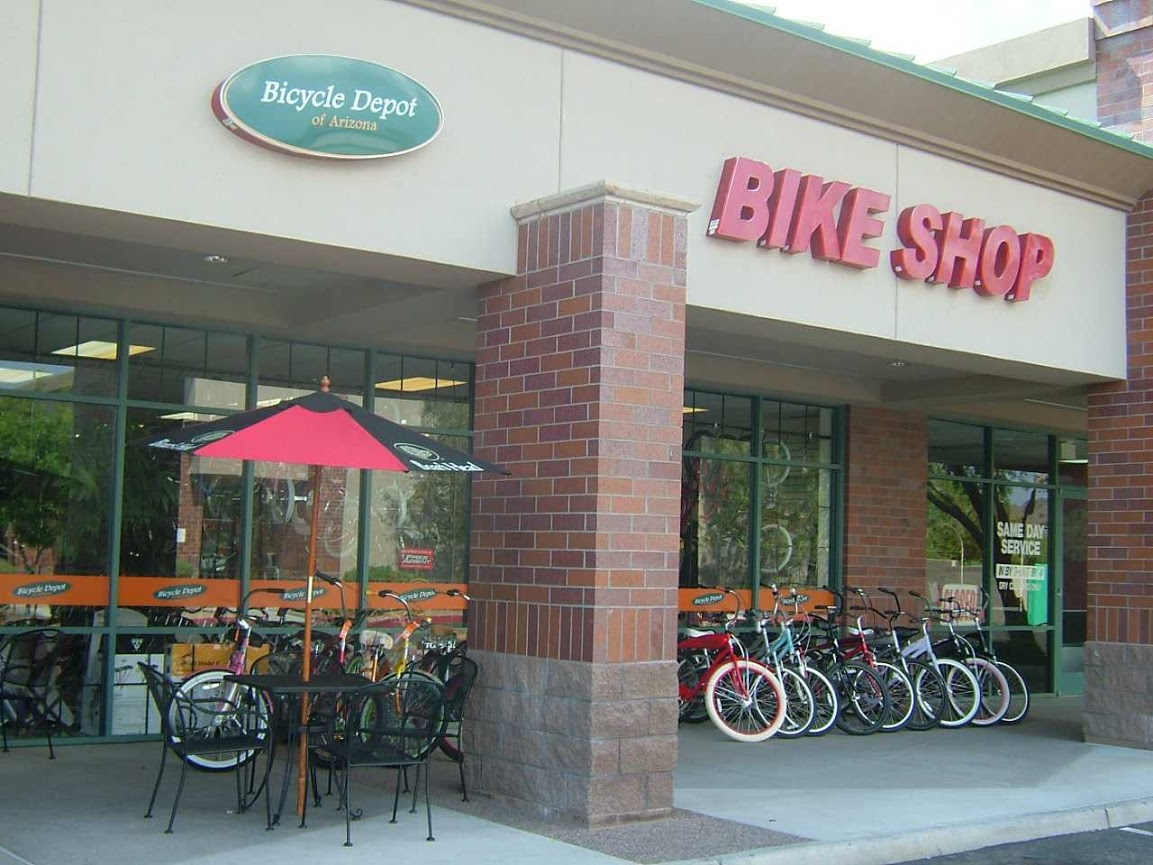 Store Front - Bicycle Depot of Arizona