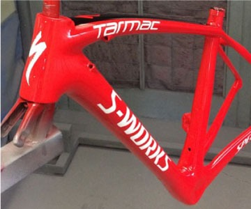 Get your carbon frame repaired at Don's