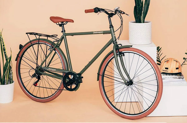 Retrospec city hybrid bike