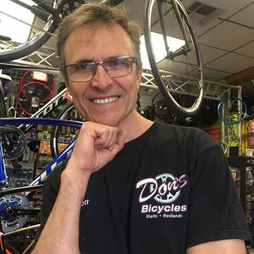 Scott McAfee Don's Bike Shop Rialto and Redlands