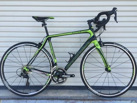 Bicycles Etc. Jacksonville, Florida Cannondale Synapse Men's Rental 081815