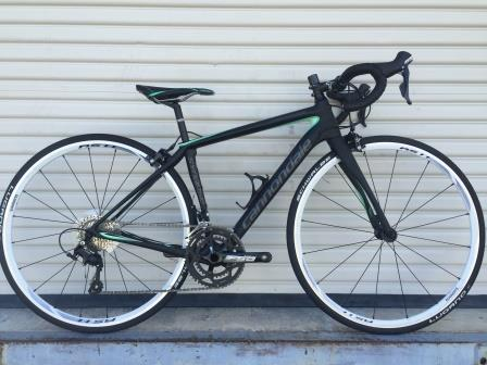 Bicycles Etc. Jacksonville, Florida Cannondale Synapse Womens Rental 081815