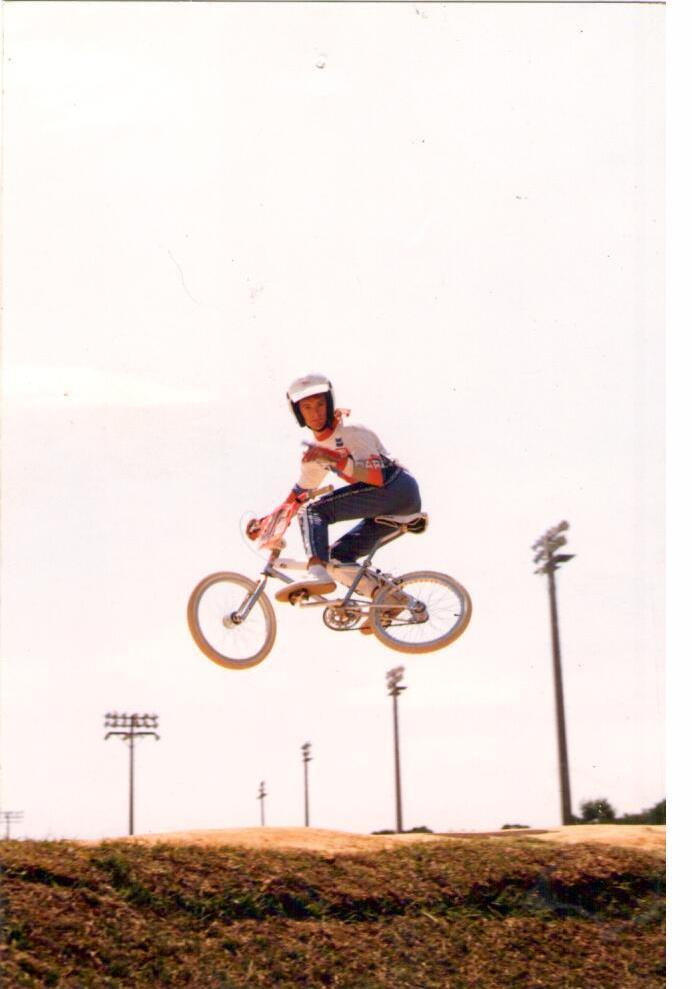 Michael Scarbrough Northside BMX Track 1986