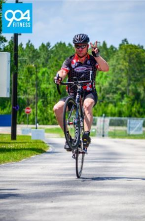 Michael Scarbrough Tour de Cure 100 mile finish 2015