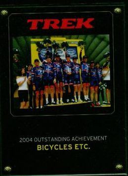 Bicycles Etc. Jacksonville Florida Top Trek Dealer 2004