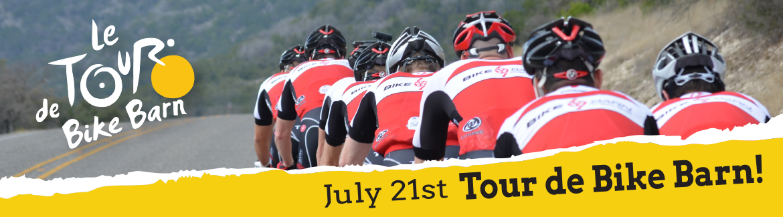 Join us for Tour de Bike Barn
