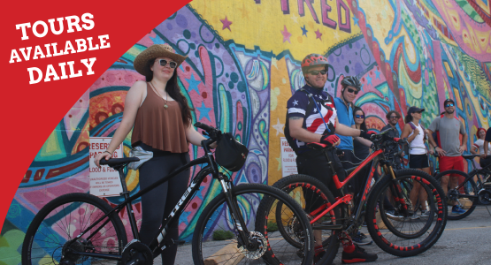 Downtown Houston Bike Tours