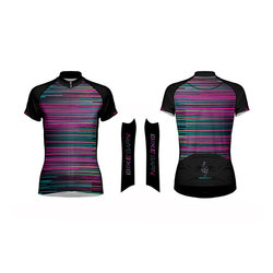 Bike Barn Bike Barn Stripes W's Jersey Primal