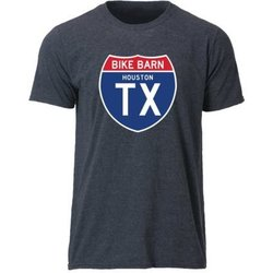Bike Barn TX Road Sign Tee