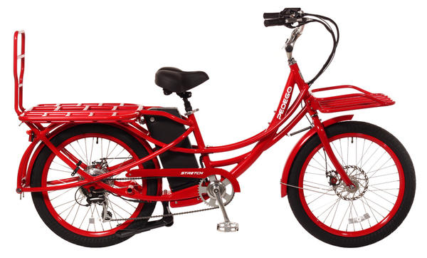 Pedego Stretch Color: Red, 48/17 Battery