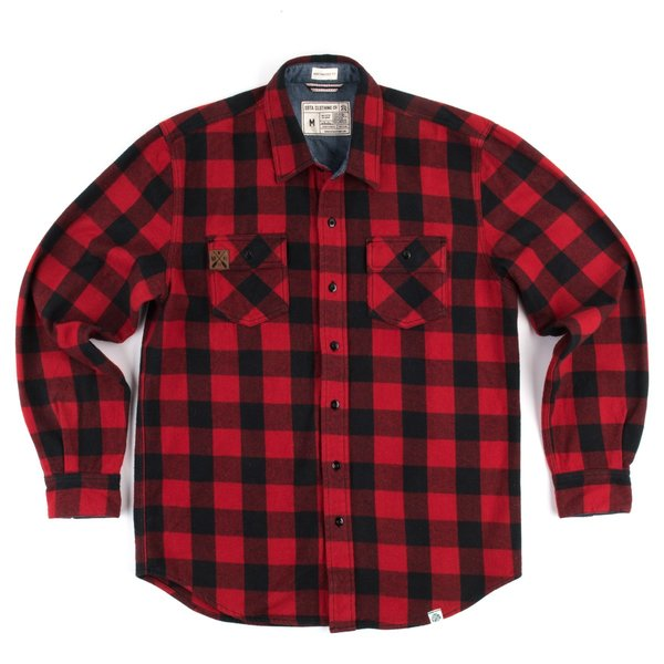 Sota Clothing Mens Flannel Button Up