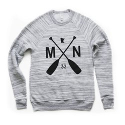 Sota Clothing Marble Fleece Crewneck