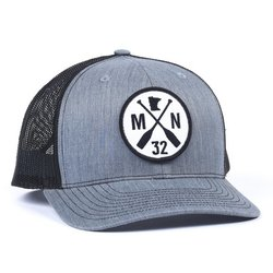 Sota Clothing The Classic Grey/Black Mesh Snapback