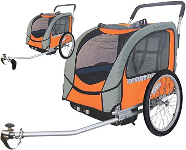 Avenir Sport Dual Trailer (w/ Stroller Attachment)