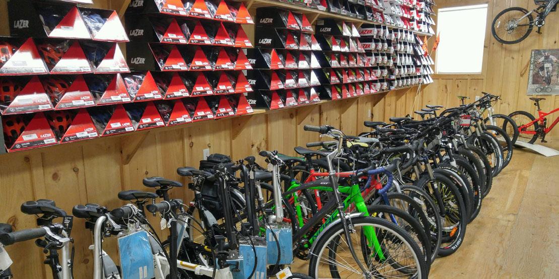 Doug & Marion's bike selection