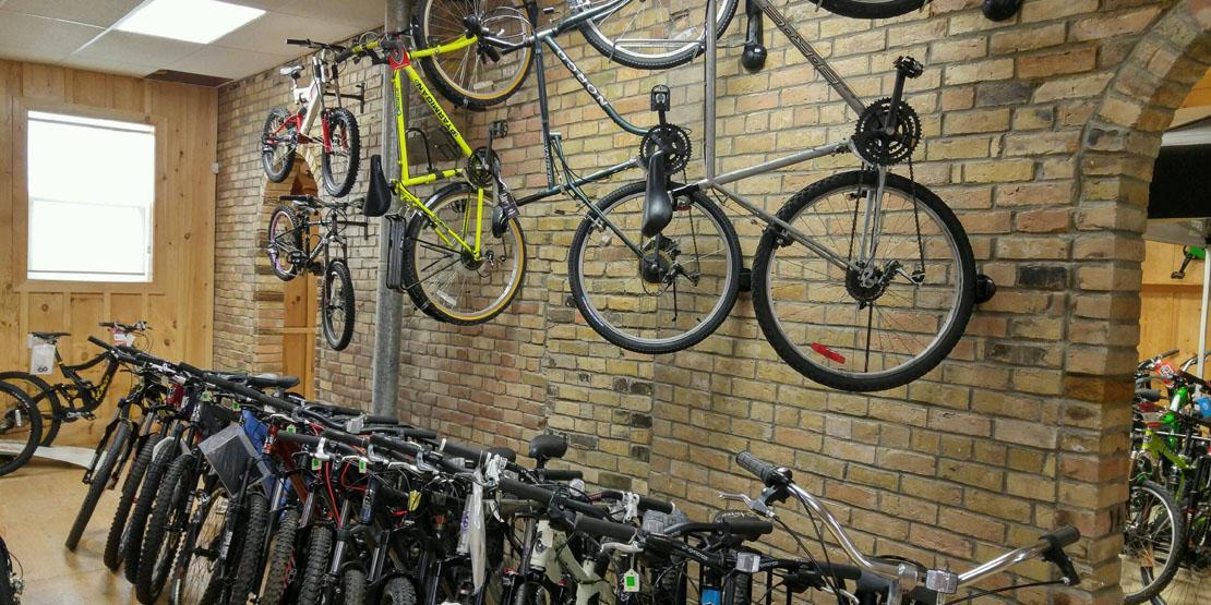 More bikes at Doug & Marion's