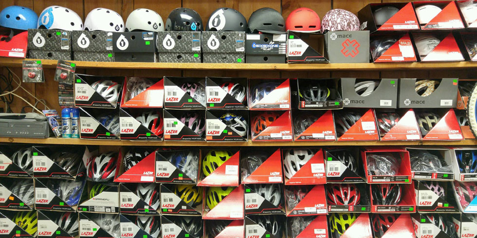 More helmets at Doug & Marion's
