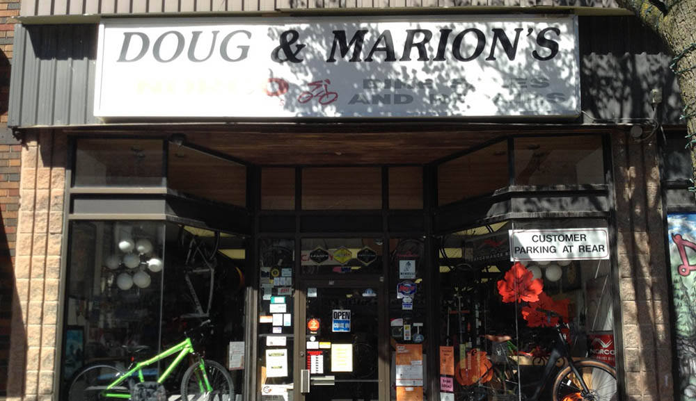 Doug & Marion's storefront