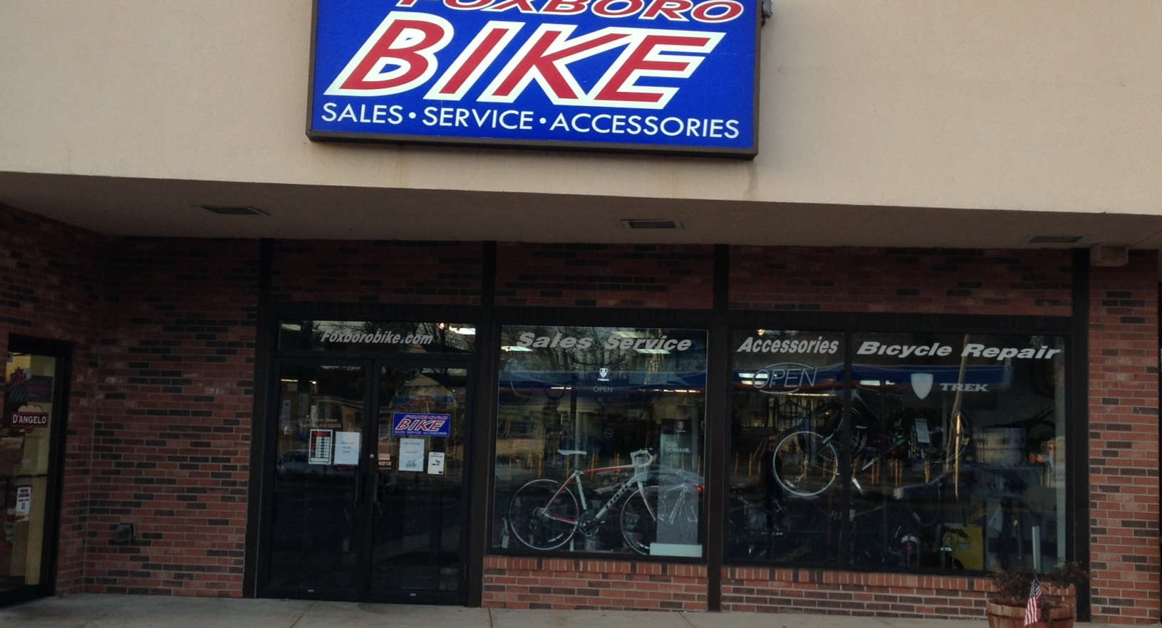 foxboro bike repairs