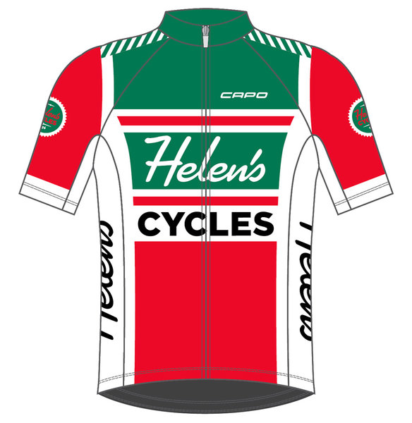 Helen's Cycles/I. Martin Bicycles 7/11 JERSEY