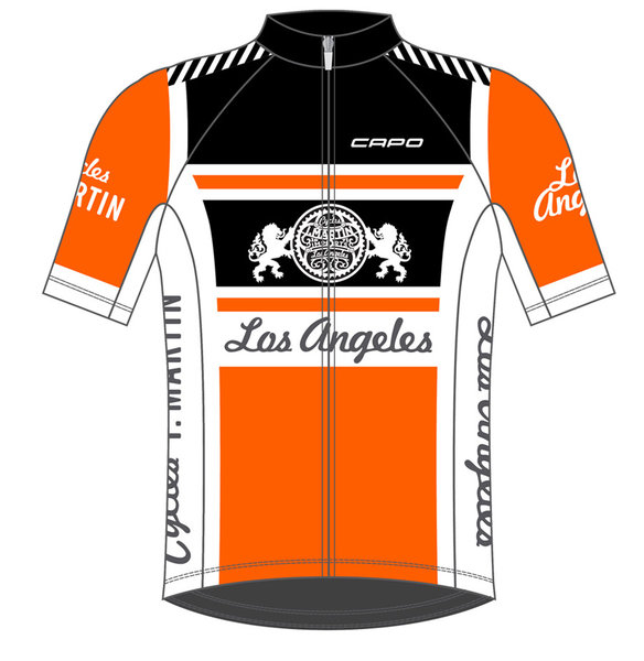 Helen's Cycles/I. Martin Bicycles I. Martin 7/11 JERSEY ORANGE Ladies