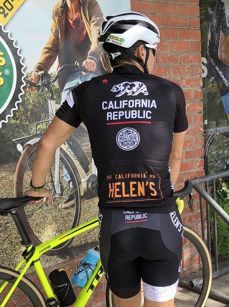 Capo Helen's Cycles California Republic Corsa Bibshorts