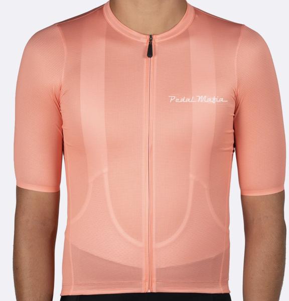 Pedal Mafia Tech Jersey - Peach