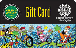 Helen's Cycles/I. Martin Bicycles Gift Card