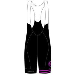 Helen's Cycles/I. Martin Bicycles Capo Retro 80 Year Bibshort - Black/Purple