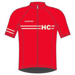 Helen's Cycles/I. Martin Bicycles Capo Retro 80 Year Jersey - Red