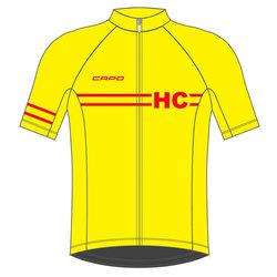 Helen's Cycles/I. Martin Bicycles Capo Retro 80 Year Jersey - Yellow