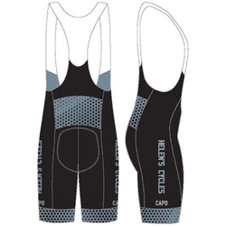 Helen's Cycles/I. Martin Bicycles Helen's Cycles Black Dot Custom Kit – bib shorts by Capo