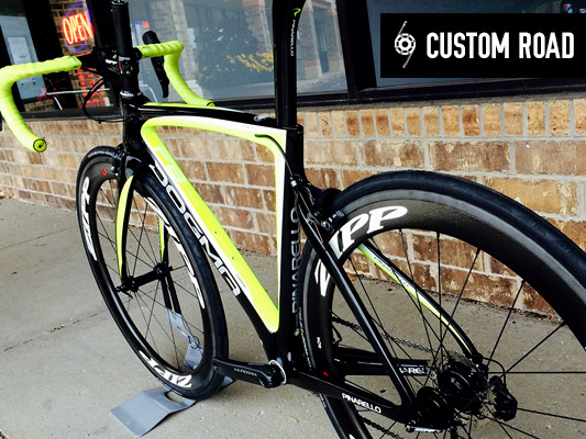 Custom Road Frames
