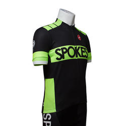 Castelli Spokes training jersey black/green