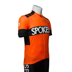 Castelli Spokes training jersey orange