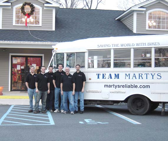 team marty's
