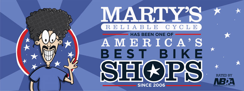 Marty's voted best bike shop