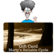 Marty's Gift Card