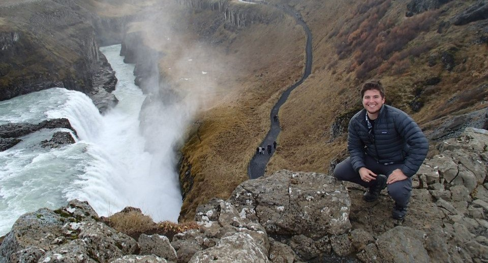 Andrew in Iceland