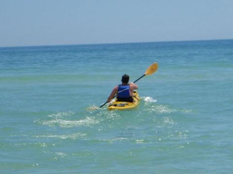Andrew Kayaking