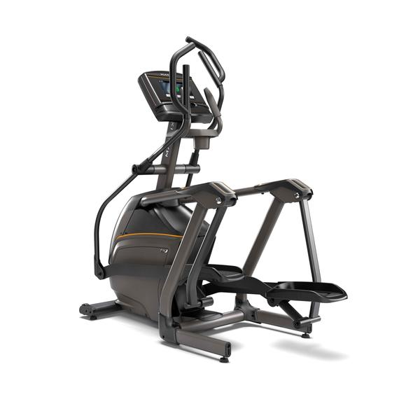 Matrix Fitness E50 Compact Suspension Elliptical with XER Console and an Induction
