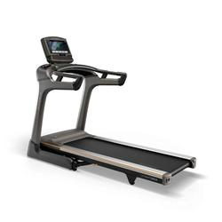 Matrix Fitness TF50 Folding Treadmill with XIR Console