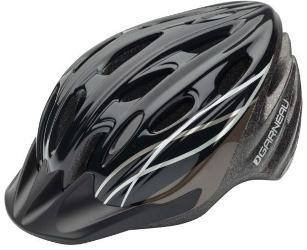 Garneau Pro Jr Cycling Helmet Color: Black