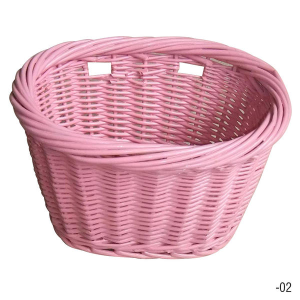 Evo E-Cargo Wicker Junior Color: Pink