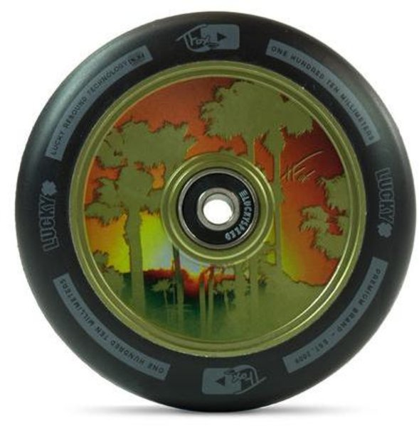 Lucky TFOX Signature Scooter Wheel 110mm (Teal)