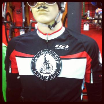 Louis Garneau Cap's Bicycle Shop Team Jersey
