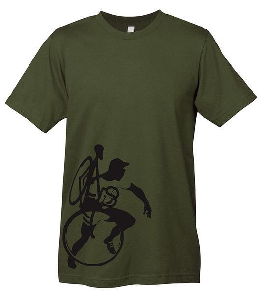 Mechanical Threads Cyclo-Cross Life T-Shirt Gray